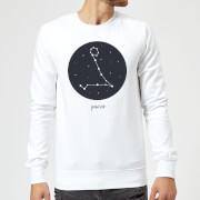 Pisces Sweatshirt - White - XXL - White
