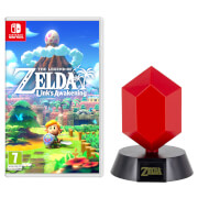 The Legend of Zelda: Link's Awakening + Red Rupee Lamp