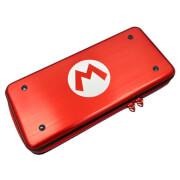 Nintendo Switch Hard Pouch Mario Case - Aluminium