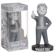 Funko Fallout Black and White Vault Boy Figure - US Exclusive 18cm