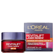 Купить L'Oréal Paris Revitalift Laser Renew Anti-Ageing Cream SPF20 50ml