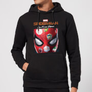 Spider man far from home stickers mask hoodie black xxl noir