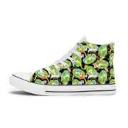 Chaussures Rick et Morty Portal - Blanches