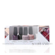 OPI Scotland Limited Edition Nail Polish Mini 4-Pack