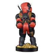 Marvel Collectable Deadpool 'Smart Ass' Cable Guy Controller and Smartphone Stand