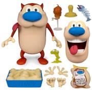 Super7 Nickelodeon Ren & Stimpy Stimpy Deluxe Figure