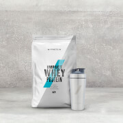 Whey and Shaker Stack