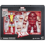 Marvel Legends Series 80th Anniversary Colossus Vs. Juggernaut Action Figures (2-pack)