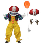 Click to view product details and reviews for Neca It 8 Inch Clothed Action Figure Pennywise 1990.