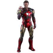 Hot Toys Avengers: Endgame MMS Diecast Action Figure 1/6 Iron Man Mark LXXXV Battle Damaged Version 32cm