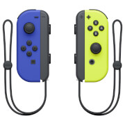 Nintendo Joy Con Pair Blue/Neon Yellow