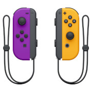 Nintendo Joy Con Pair Neon Purple/Orange