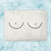 Boobs Bath Mat