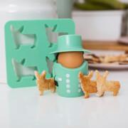 Queen Egg Cup & Cutter Set