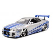 Jada Die Cast 1:24 2 Fast 2 Furious - Brian's Nissan Skyline GT-R