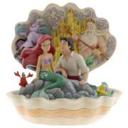 Disney Traditions - Seashell Scenario (The Little Mermaid Shell Scene Figurine)