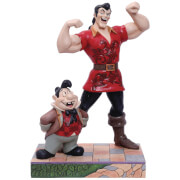 Disney Traditions - Muscle-Bound Menace (Gaston and Lefou Figurine)