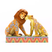 Disney Traditions - Savannah Sweethearts (Simba and Nala Figurine)