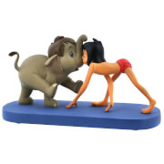 Enchanting Disney Collection - Jungle Patrol (Hathi JR. and Mowgli Figurine)