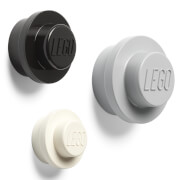 LEGO Wall Hanger Set - Grey/Black/White