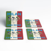 Mark Fairhurst Milan San Remo Coaster Set