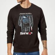 Friday the 13th Vintage Poster Sweatshirt - Black