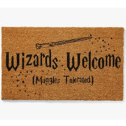 Harry Potter Wizards Welcome deurmat