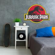 Logo Jurassic Park Sticker Mural
