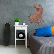 T-Rex Jurassic Park Sticker Mural