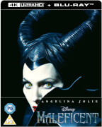 Maleficent - Die dunkle Fee 4K Ultra HD - Zavvi Exklusives Lentikuläre Edition SteelBook (Inkl. 2D Blu-ray)