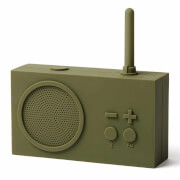 Lexon TYKHO 3 FM Radio and Bluetooth Speaker - Khaki