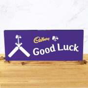 Cadbury Bar 850g   Cricket Bat   Good Luck