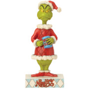 The Grinch By Jim Shore Two-Sided Naughty/Nice Grinch Figurine
