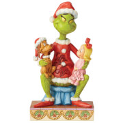The Grinch By Jim Shore Grinch with Cindy and Max Figurine