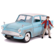 Jada Die Cast 1:24 Harry Potter 1959 Ford Anglia with Figure