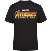 Marvel 10 Year Anniversary Avengers Infinity War Men's T-Shirt - Black