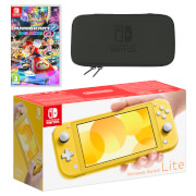 Nintendo Switch Lite (Yellow) Mario Kart 8 Deluxe Pack