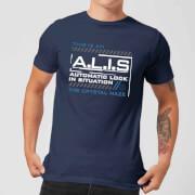 Crystal Maze A.L.I.S. Men's T-Shirt - Navy