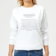Namaste Women's Sweatshirt - White