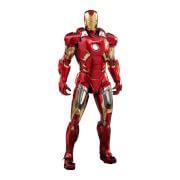 Hot Toys Marvel's The Avengers Diecast Movie Masterpiece Action Figure 1/6 Iron Man Mark VII 32cm