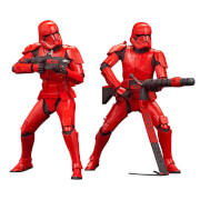 Kotobukiya Star Wars: The Rise Of Skywalker - Sith Trooper Two Pack ArtFX+ Statue