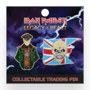 Iron Maiden Legacy of the Beast Lapel Pin - Corrupt General and Trooper Eddie