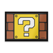 Nintendo Super Mario Mystery Box Entrance Mat