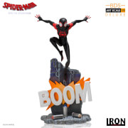 Iron Studios Spider-Man: Into the Spider-Verse BDS Art Scale Deluxe Statue 1/10 Miles Morales 22cm