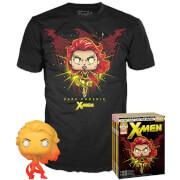 Lot Pop et T-shirt EXC : Dark Phoenix - Noir