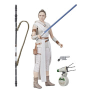 Star Wars The Black Series, figurines articulées Rey et D-O