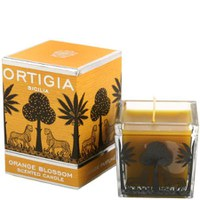 Orange Blossom Square Candle d'Ortigia