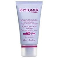 Protector SolarSun solutionSPF30 Cara y Zonas Sensibles dePhytomer(50 ml)