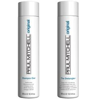 Paul Mitchell Shampoo One & Detangler Duo (2 Products)