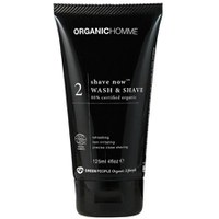 Green People Organic Homme 2 Shave Wash & Shave (125ml)